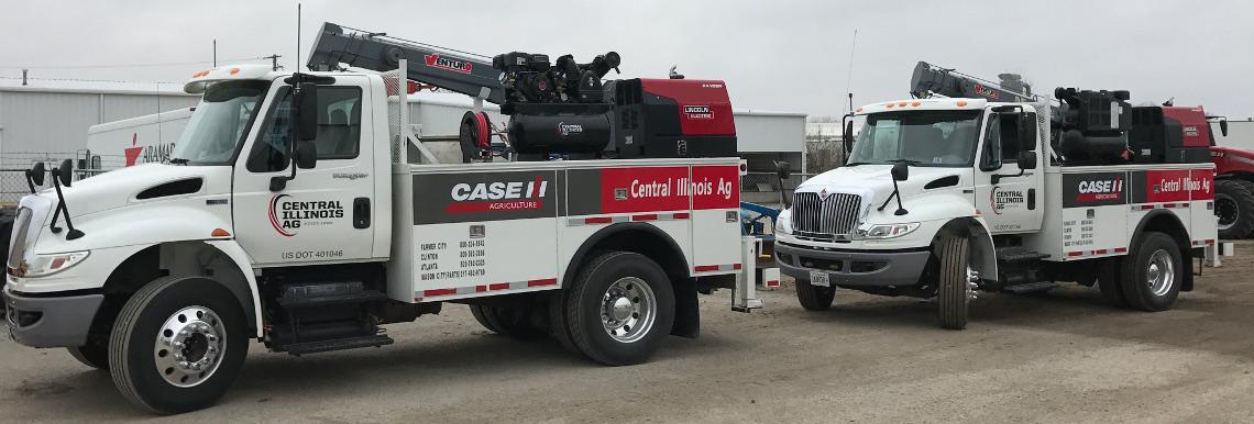2017 Case IH Tractor for sale in Central Illinois AG, Atlanta, Illinois